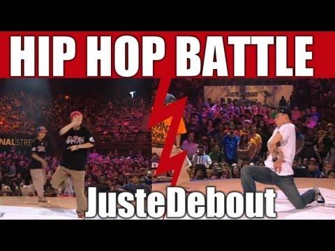 HIP-HOP style dance Battle Kyoka Mika vs Lil J Sparkle