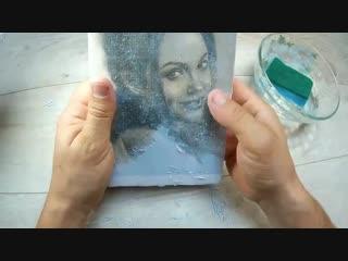 Просто и легко - как перенести фото на деревянную поверхность - vk.com/tricks_lf