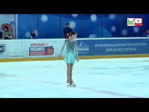 Anna SCHERBAKOVA - SP, Spartakiad 2019