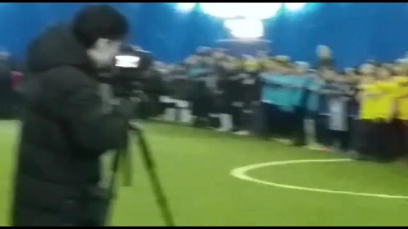 Қазақстан Республикасының əнұраны.