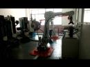 ABB Robotic-grinding and polishing Chair Armrest