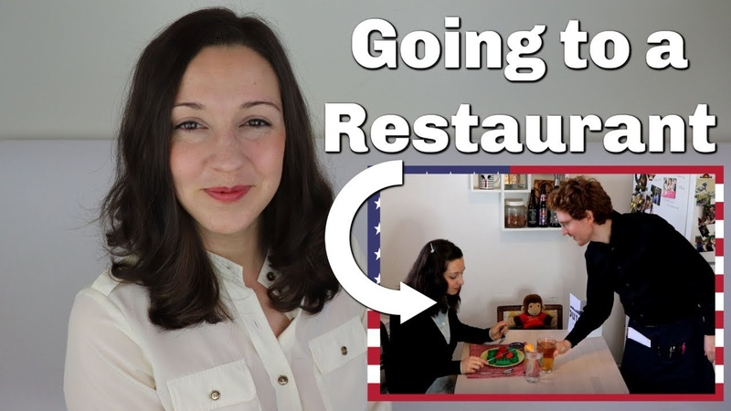 Going to a Restaurant in English Travel English
