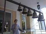 звон в храме Успения Божией Матери в школе -интернат при Николо-Шартомском монастыреЗвонарь Илья Бункин.