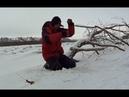 ЭТО КРОКОДИЛ ТОЛЬКО НЕ ОТОРВИ МОНСТР Трофейная рыбалка по первому льду ШОК