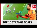 Strange Goals 2017_18 - Face Smash, Free-Kick Naughtiness and a Thirsty Goalkeep