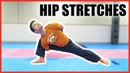 HIP STRETCHES FOR HIGH KICKS Taekwondo Flexibility Tutorial