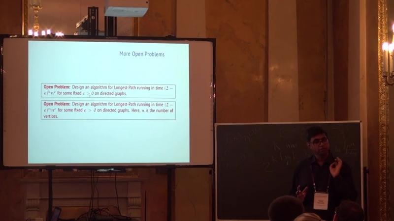 Lecture 6   Recent Advances in Algorithms   Saket Saurabh
