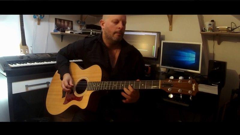 Telegraph Road - Dire Straits (Acoustic Solo 12)