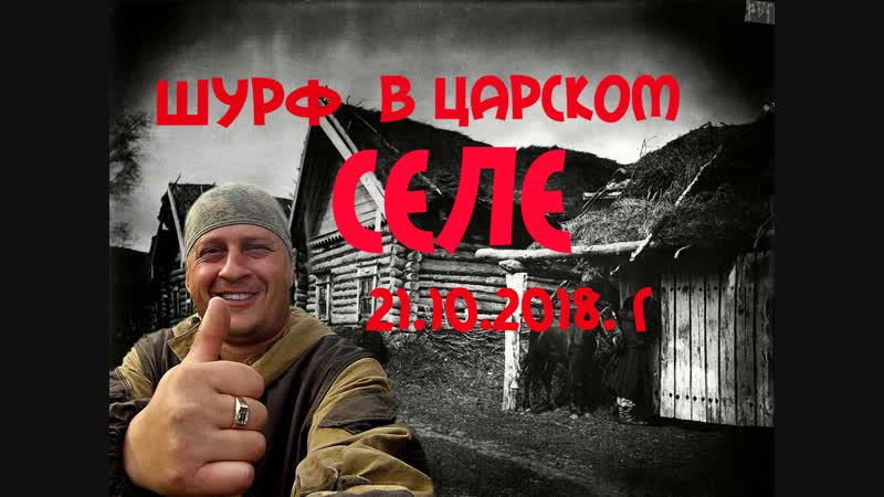 Шурф в Царском селе. 21.10.2018