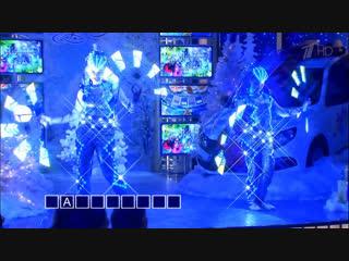 Новогоднее световое шоу БезГраниц в программе Поле Чудес