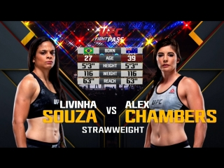 UFC_FN_137 Livinha Souza vs. Alex Chambers