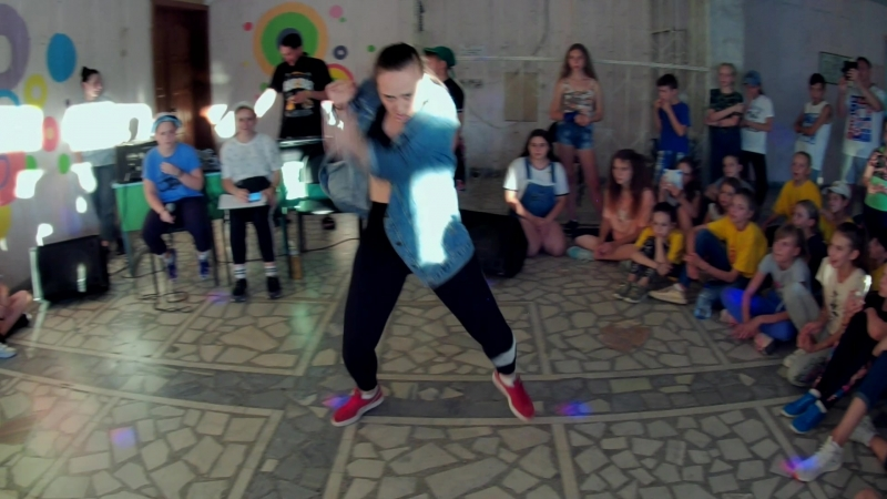 DANCEHALL   Zhanna Chi   Judge demo