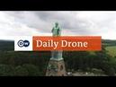 DailyDrone: Herkules | DW Deutsch (2017) - Геркулес, Kassel, река Fulda, Гессен