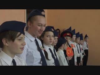 Сердобск ТВ - Смотр строя и песни. Школа-интернат