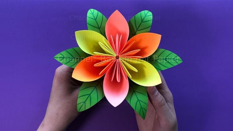Blumen basteln mit Papier 💐 DIY Geschenkideen - Einfache Deko selber machen