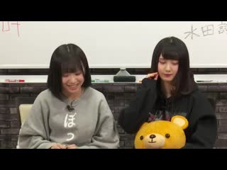 190221 NMB48 no Shaberi Hour (Mizuta Shori & Yamamoto Mikana)