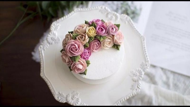Украшение торта. Кондитерская насадка № 104