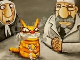 НОЛЬ - Человек и кошка (по картинам художников - Василия Шульженко, Васи Ложкина, Виктора Ляпкало и Ника Копейкина)