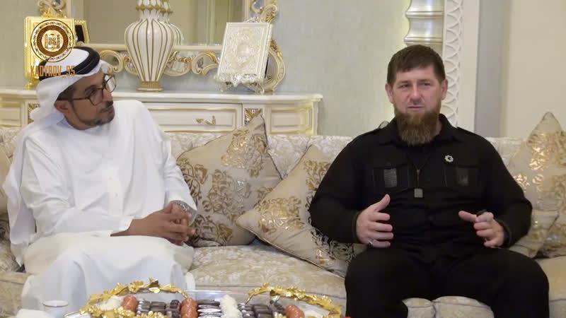 Встреча с президентом Фонда развития Абу Даби Мухаммадом Сейф аль Сувайди