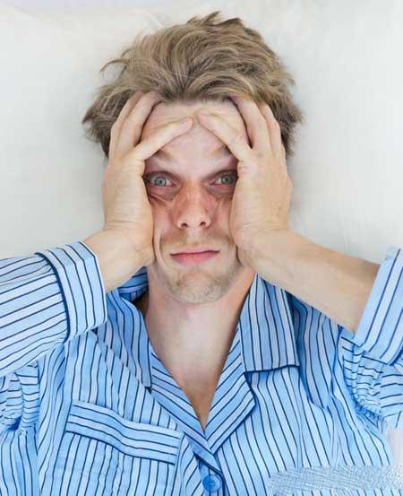 Простое недосыпание может быть причиной дрожания тела