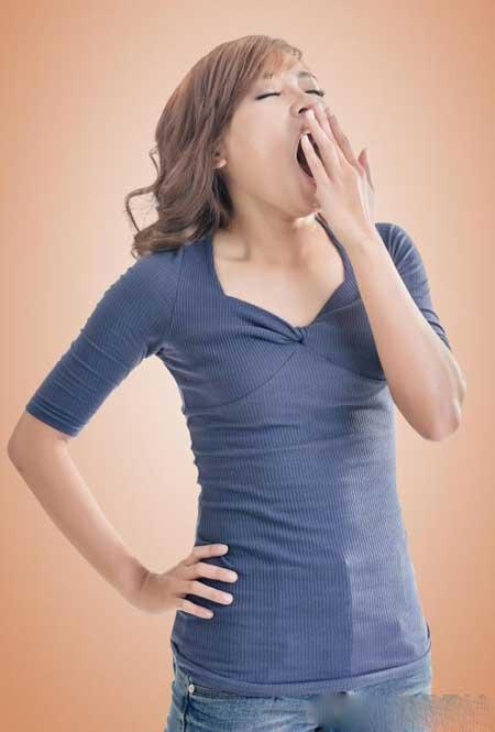Тремор тела может возникнуть в результате усталости.