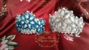 Новогодний Ободок Снежинка МК Christmas Bezel Snowflake MK