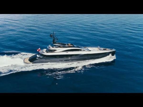 The New Luxury Yacht FLYING DAGGER 49m. by Rossinavi, ext.Enrico Gobbi, int.Lazzarini Pickering 2018