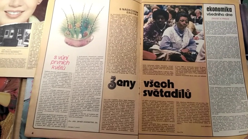 Zenamoda 4/1982, журнал мод ЧССР