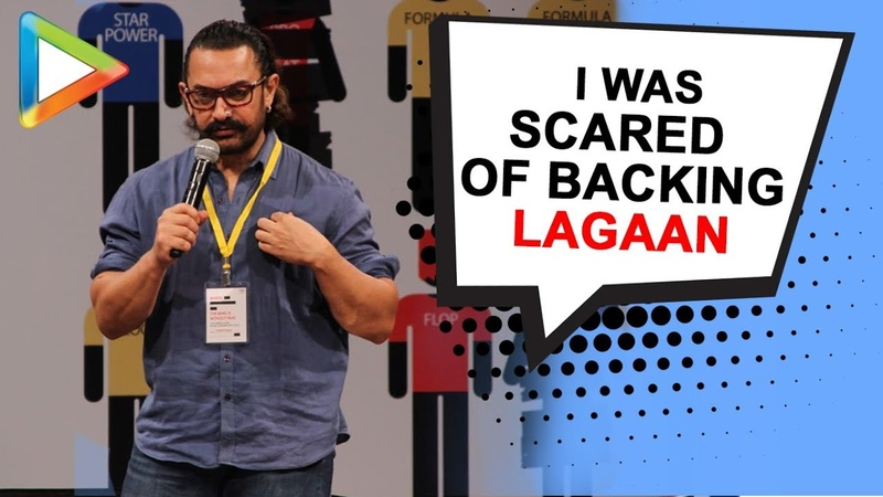 Aamir Khan speaks out on why he was SCARED of backing Lagaan