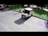 Появилось видео похищения 10 млн руб. из Альфа-банка