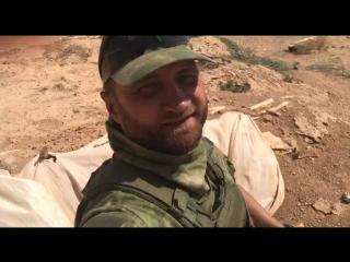 Захваченное убежище боевиков ИГИЛ в районе Пальмиры.