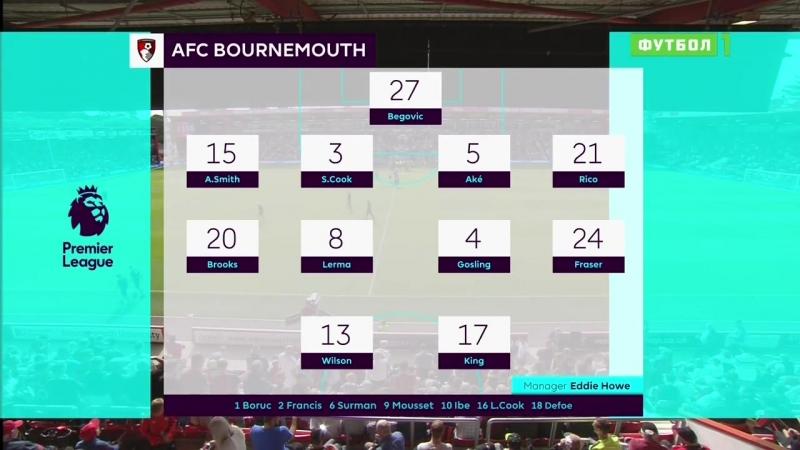Чемпионат Англии 2018-19.Обзор 05-го тура.17.09.18.