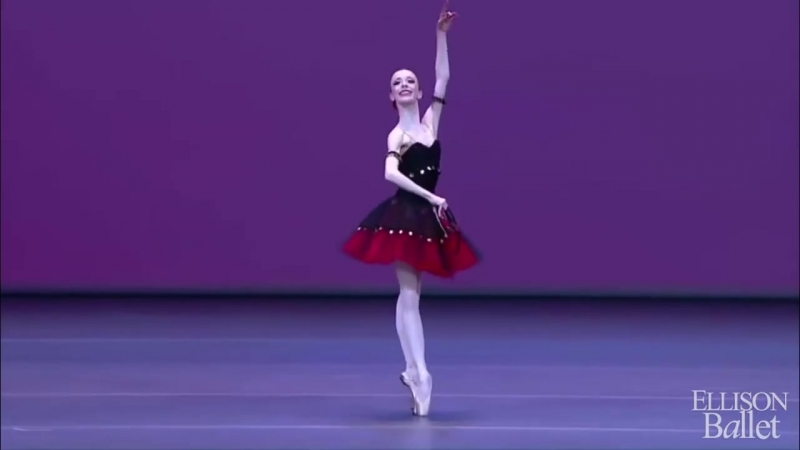 Ellison Ballet Elisabeth Beyer Esmeralda Variation Moscow IBC 2017 Gold Medalist