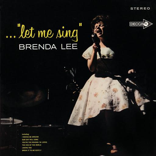 """Brenda Lee альбом ...""""Let Me Sing"""""""