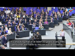 Alice Weidel(AfD) blasts German Parliament This country is governed by idiots!