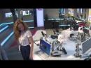 Екатерина Гусева после эфира на «Авторадио» (без звука)