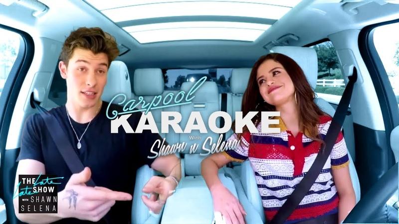 Shawn Mendes and Selena Gomez Carpool Karaoke