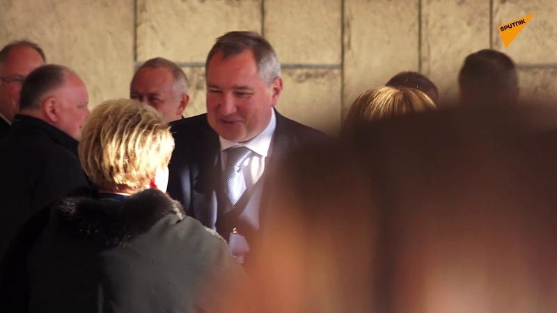 Pripreme za doček ruskog predsednika u Palati Srbija