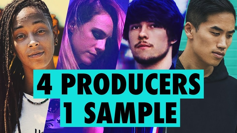 4 PRODUCERS FLIP THE SAME SAMPLE feat Virtual Riot Bad Snacks Sarah the Illstrumentalist