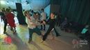 Frederic Taieb Marina Vanyushina - Salsa social dancing at the 2018 The Third Front Salsa Festival