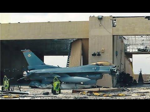 BREAKING Hurricane Michael Mangled 17 F22 Raptors unable to Flee October 15 2018 News