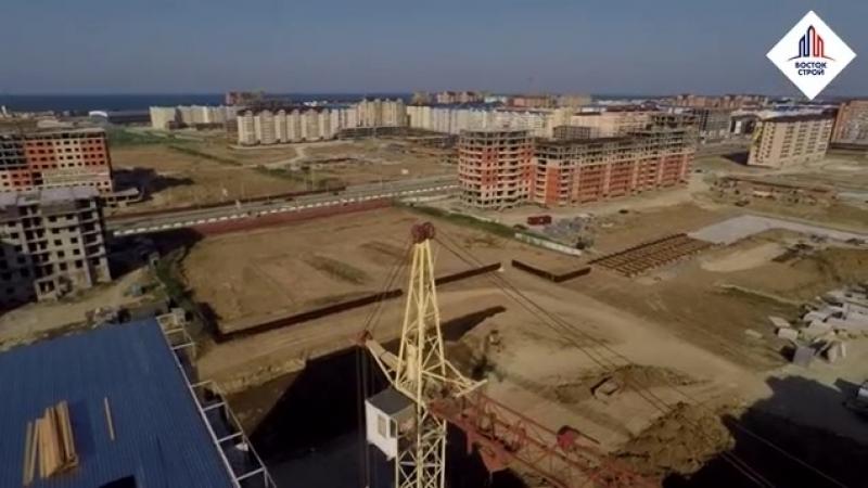 Представляем вашему вниманию обзор 76 позиции (10-ти этажного панельного дома). Завершающий этап строительства дома! Часть 1