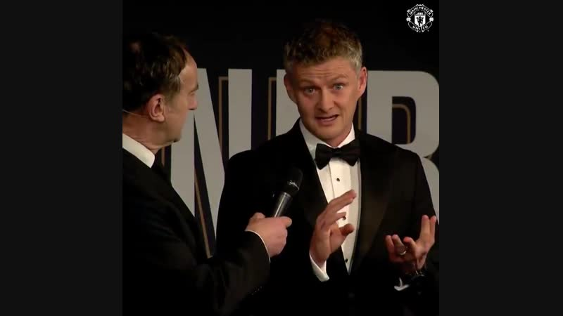 For me, it's the closest charity to my heart. - - Ole speaks on stage at the United4UNICEF dinner and announces a special donati