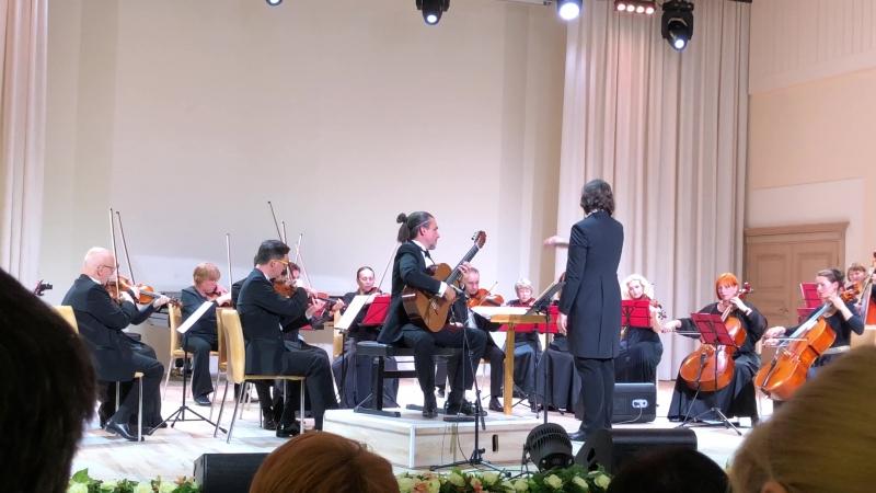 Пьяцолла/Бородаев Ангел-сюита, финал 5-й части. Мурманская филармония.