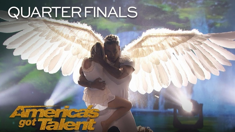 Zurcaroh: Massive Aerial Dance Act Delivers Incredible Flips On Stage - America's Got Talent 2018