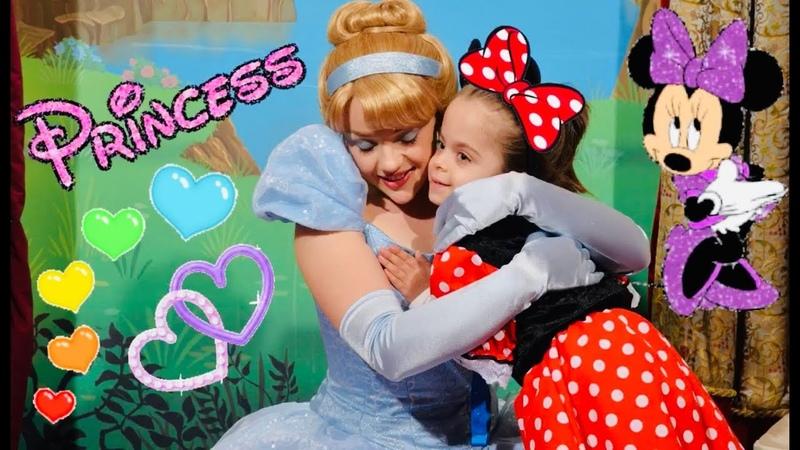 Мультфильм Золушка Пазл Принцессы дисней Видео для Детей 4K HD Игры Игрушки Играем
