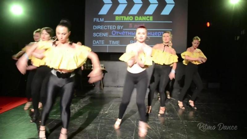 Сальса Женский стиль с Наташей Сиренко⁄ Отчётный концерт ⁄ Школа танцев Ritmo Dance.