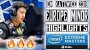 Best of Europe Minor - IEM Katowice 2019 Highlights (Day 1) 🔥ZywOo on FIRE! 🔥