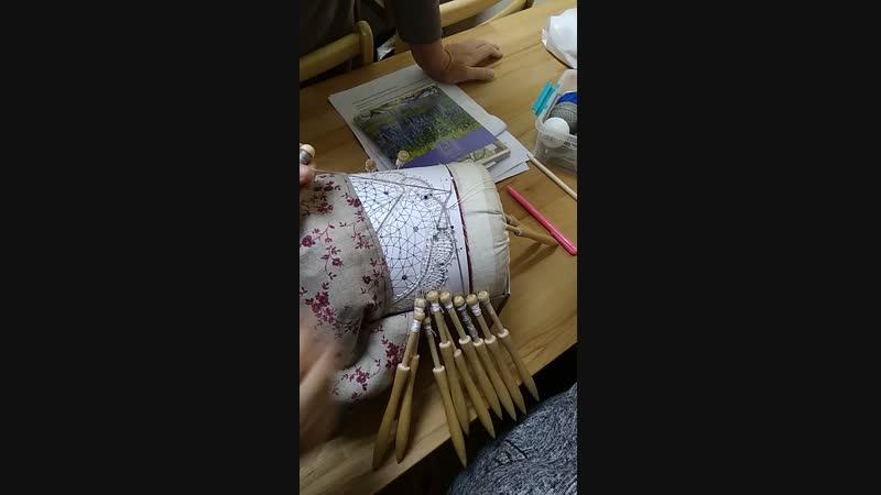 Зашивка скани в сетке
