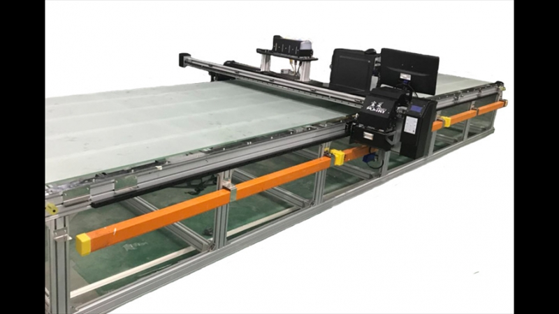PO-TRY BRAND FLATBED PRINTING MACHINE FOR COTTON GARMENT PIECES 平板跑台机 BC-1506FP